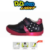 D.D.Step LED kislány félcipő