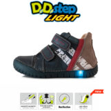 D.D.Step LED fiú bokacipő