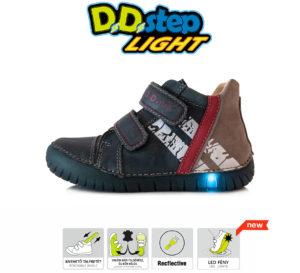 D.D.Step LED fiú bokacipő